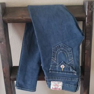 True Religion Skinny, dark wash, size 29 Jeans